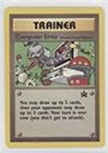 Pokemon - Computer Error (Pokemon TCG Card) 1999-2002 Pokemon Wizards of the Coast Exclusive Black Star Promos #16