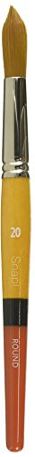 Princeton Snap! PAB96517 Snap Brush Taklon, Gold