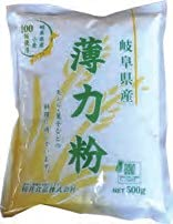 桜井食品 岐阜県産薄力粉 500g 12個