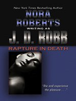 Hardcover Rapture in Death [Large Print] Book