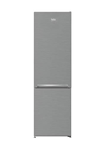 Beko RCSA300K30SN freistehende Kühl-/Gefrierkombination/ 3 Gefrierschubladen/ 38 dB/Edelstahllook