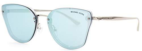 Michael Kors 0MK2068 Gafas de sol, Silver Glitter, 58 para Mujer