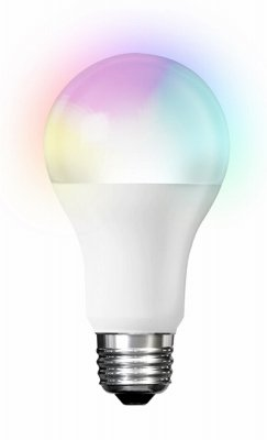 Feit A800/rgbw/ag Smart Wifi Led Color Changing & Tunable White A19 Bulb, 9w