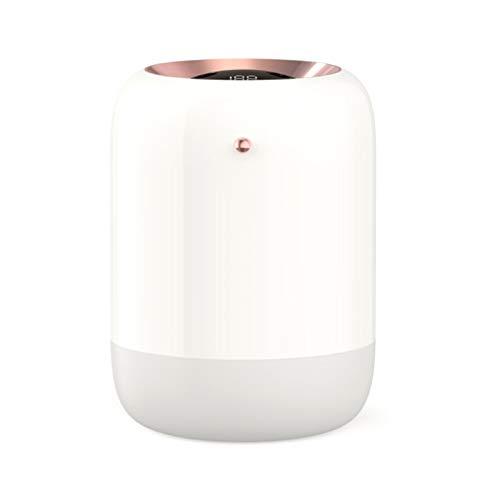 SODIAL Humidificador de Aire del Hogar Doble Boquilla Difusor de Aroma de Niebla FríA Humidificador USB UltrasóNico de Niebla Pesada Blanco