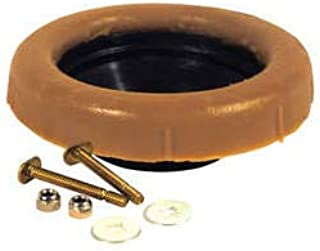 Toilet Wax Ring by ProFlo – Toilet Bowl Flange Repair Kit with Closet Bolts – Reinforced Polyethylene – Fits 3 Inch and 4 Inch Waste Lines – Gas, Odor and Watertight Seal