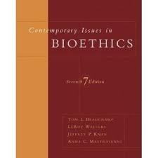 Image OfContemporary Issues In Bioethics 7th (seventh) Edition