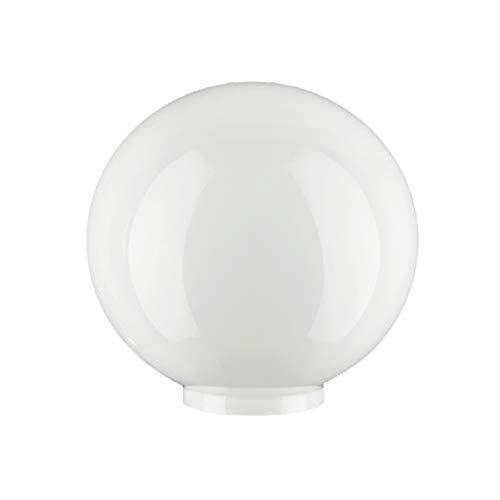 D:160mm Rand:80mm Sfera di vetro con bordo molte misure paralume in vetro opale opaco Vetro di ricambio