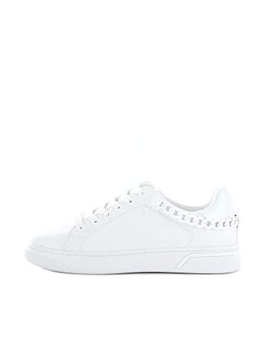 Guess Riyan/Active Lady/Le, Zapatillas Deportivas Mujer, Blanco, 38 EU