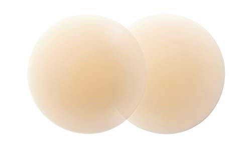 Nippies Skin Ultimate Adhesive Nipplecovers Pasties & Travel Case - Creme (Size One - Fits A - C Cups)