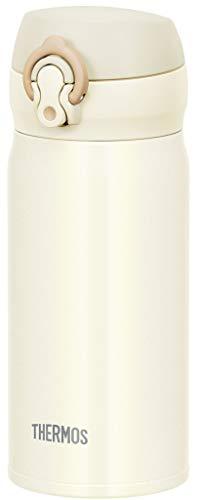サーモス 水筒 真空断熱ケータイマグ ワンタッチオープンタイプ クリームホワイト 350ml JNL-354 CRW