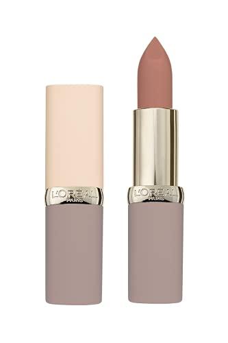 L'Oréal Paris A9877700 Rossetto Color Riche Ultra Matte Collezione Free the Nudes, Non Secca le Labbra, Ottimo Comfort, 02 No Cliche