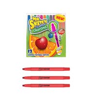 Mr. Sketch Scented Twist Crayons, Assorted Colors, Pack of 8