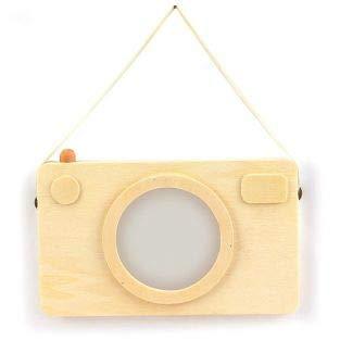 Graine Créative Houten fotolijst - Polaroid camera 20 x 12 cm