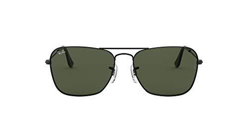 Ray-Ban RB 3136 Gafas de sol, Matte Black, 54 para Hombre