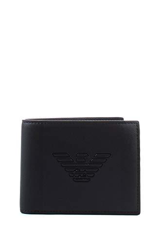 Emporio Armani herren Geldbörse black