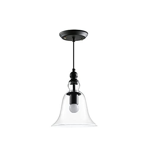 Kioiien Nordic Modern Lights Luces de cristal Lámpara de vidrio Colgante de...