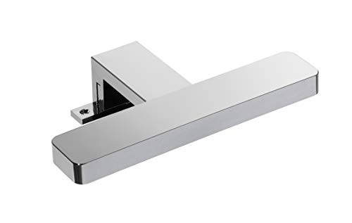 FACKELMANN led-opzetlamp Finn voor spiegel/afmetingen (b x h x d): ca. 20 x 4,5 x 12 cm/hoogwaardige LED-lamp voor badkamer en toilet, kleur: zilver/energie-efficiëntieklasse A/breedte: 20 cm