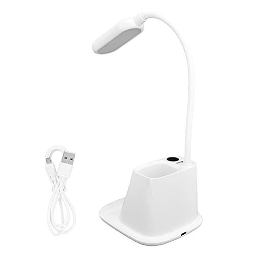 KASD Lámpara de Escritorio, lámpara Plegable de Alta sensibilidad 360 ° Ajustable para Sala de Estar Dormitorio