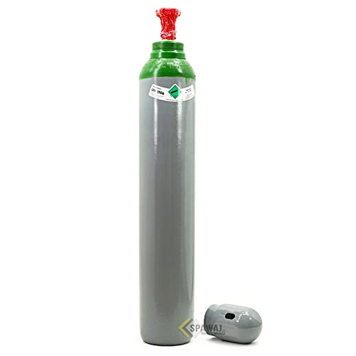 Botella de gas de argón puro (100%), 10 litros de gas de soldadura TIG WIG, legalización 2,1 m3