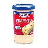 Kraft Cheese Spread - Pimento, 5 oz jars (6 Pack)
