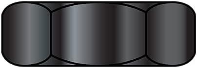 discount 6-32X1 4X3 32 Small Pattern Superior Hex Nut Machine Screw Zinc Black Pa