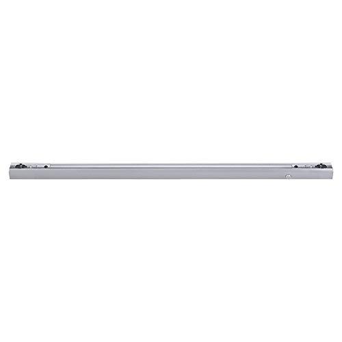 Fassung Linienlampe für Osram Linestra Ralina 120W S14s 100cm zwei Sockel mit Schalter (silber)