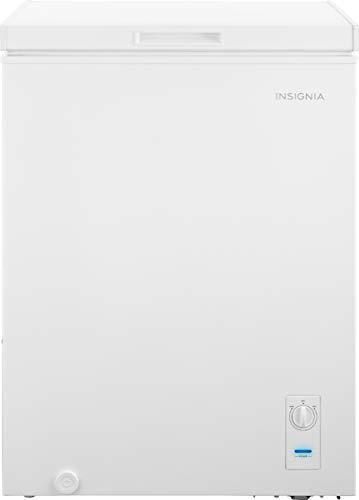 Insignia - 5.0 Cu. Ft. Chest Freezer - White