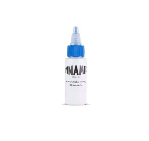 Dynamic Color Heavy White Tattoo Ink 1-oz