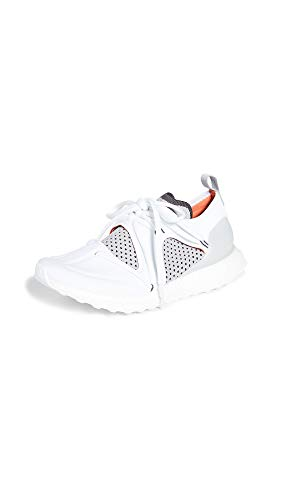 adidas by Stella McCartney Women's Ultraboost T. S. Sneakers, Pearl Grey/Rust Red/White, 5.5 Medium US