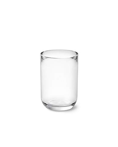 Umbra 1014016-165 Junip Bathroom Accessories Tumbler-Modern Resin Holder and Organizer, Perfect for Holding Toothbrushes, Make-up Brushes and More, Clear