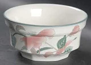 Fruit/Dessert (sauce) Bowl in the Silk Flowers Pattern by Mikasa