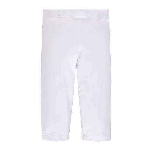 Brums 181BGBM009, Pantalone Pescatore Bambina, Bianco Optical White 01, 116 cm Taglia Produttore: 6A