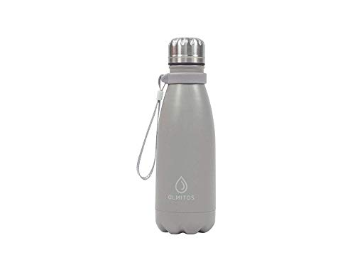 Olmitos - Botella termica inox taupe, 350 ml
