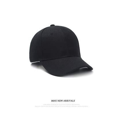 wtnhz Artículos de Moda Sombrero para Mujer Estilo Coreano Simple Gorra de béisbol de Todo fósforo Gorra Casual de Color sólidoRegalo de Vacaciones