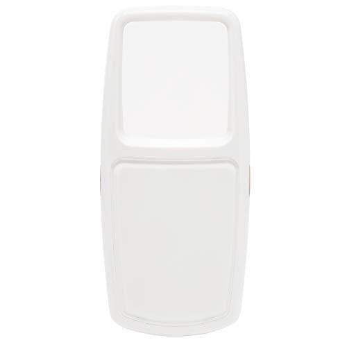 保土ヶ谷電子販売 ルーペ 2.8倍 ホワイト ポケットルーペ LEDライト付き HLC-06WH