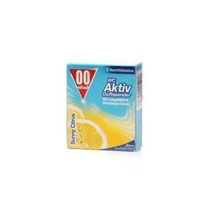 10er Pack WC-Duftsteine 00 Nachfüller Zitrone 2x50g