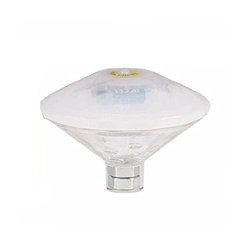 LED Diamond Bañera Piscina Ducha Luces de Proyección Impermeable Agua Flotante Acuario Fuente de Buceo Luces de Etapa Luces de Piscina Flotante Rgb Color Chang para Piscina Grande Blanco Impermeable