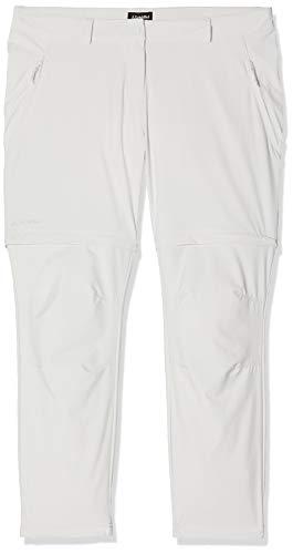 Schöffel Pants Ascona Zip Off, leichte und komfortable Damen Hose mit optimaler Passform, flexible Outdoor Hose für Frauen Damen, gray violet, 34