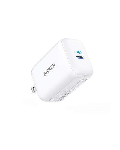 Anker PowerPort III 45W Pod (PD 充電器 USB-C) 【PPS規格対応 / PSE技術基準適合 / 折りたたみ式プラグ】 MacBook iPad iPhone Android各種 その他USB-C機器対応