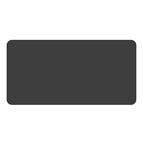 YKW Computadora Mouse Pad Juego Mousepad Grande Mouse Pad Gamer mause Alfombra pc Escritorio Estera Teclado Almohadilla (Color : Black)