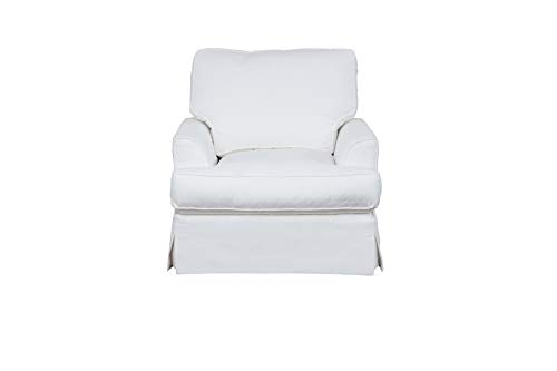 Sunset Trading Ariana Chair, White