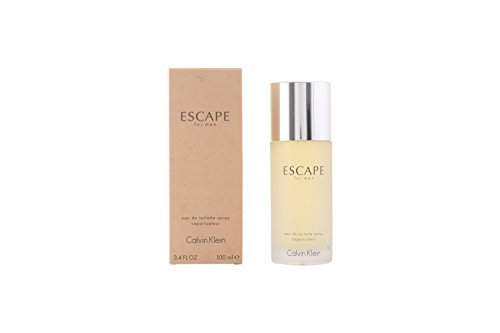 Calvin Klein Escape Spray para Hombre, 3.4 Oz/100 ml