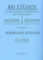 100 ETUEDEN 2 - arrangiert für Violine [Noten / Sheetmusic] Komponist: KUECHLER FERDINAND