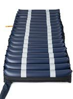 """Alternating Pressure Air Mattress with Pump for Hospital Beds - Low Air Loss, Quilted Nylon Cover - 80"""" x 36"""" x 8"""" (Twin) - Prevents Pressure Ulcers and Bed Sores - Oasis by Medacure"""