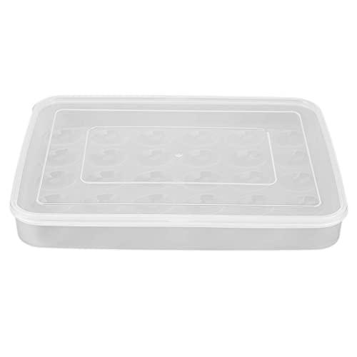 1 unids 30 rejillas de gran capacidad portátil casa picnic plástico huevo caja titular almacenamiento contenedor nevera