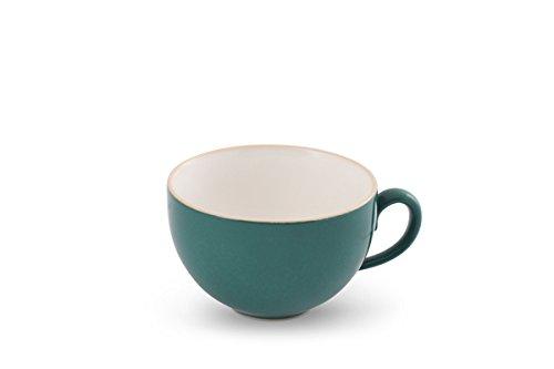 Friesland Kaffeetasse 0,24l innen Weiß Trendmix Petrol