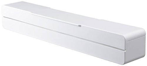 山崎実業 マグネット ラップケース 30cm用 アクア ホワイト 3242