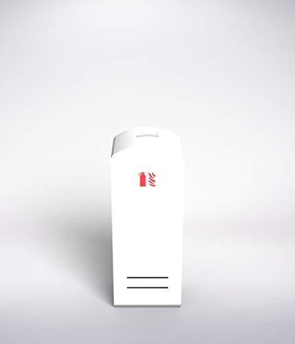 Caja Diseño Soprano, Armario Extintor 6L o 9L de Agua o Espuma, 6kg o 9kg de Polvo, Extintor CO2 2kg