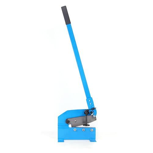 Tijeras de metal de 200 mm, grosor de corte de 6 mm, para metal, palanca de marco de acero flexible