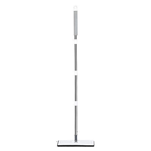 Ardentity Set emmer plat voor Vadroille, bezem met extra grote en draaibare kop voor het reinigen van de kamer